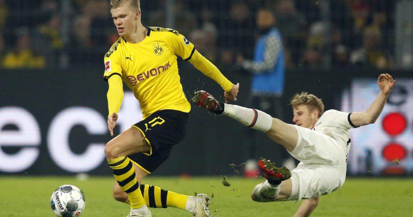 Dortmundissa pelaava norjalainen Erling Braut Håland on lyhyessä ajassa noussut supertähdeksi.