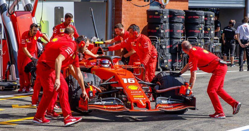 Charles Leclercin ensimmäinen kausi Ferrarilla on sujunut lupaavasti.