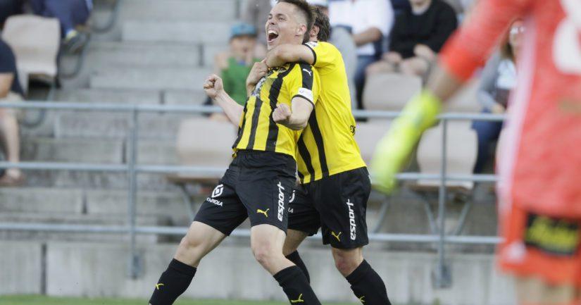 FC Hongan kausi on edennyt Veikkausliigassa vahvasti.