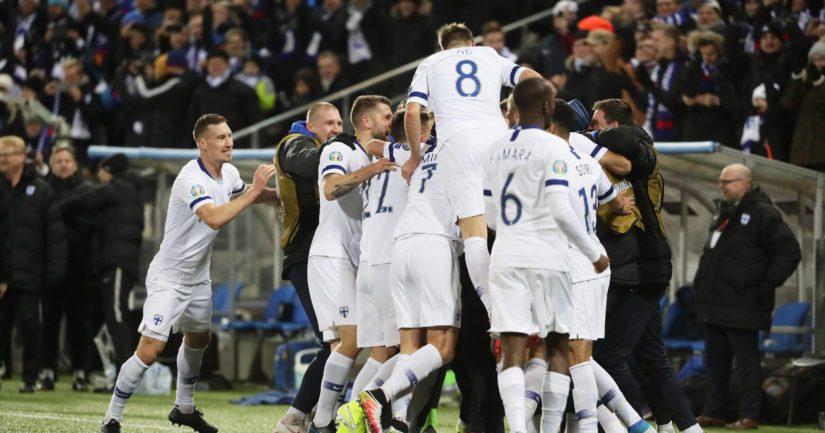 Suomi pelaa vuonna 2020 jalkapallon EM-kisoissa.