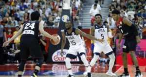 Yhdysvallat kompuroinut MM-koripallossa – alkusarjassa monta irvokasta ottelua