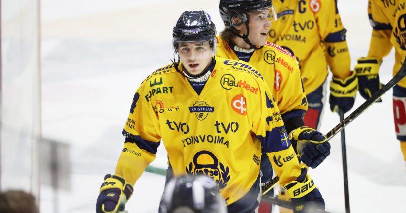 Rauman Lukko pelasi Liigassa vahvaa kautta.