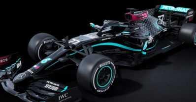 Black Lives Matter saa tukea – Mercedeksen F1-auto väritettiin mustaksi