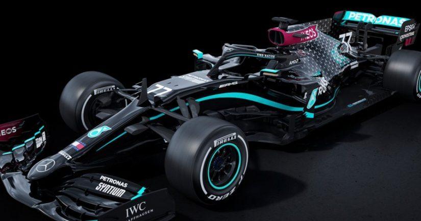 Mercedeksen F1-talli kilpailee Black Lives Matter-liikkeen tukena kaudella 2020 mustilla autoilla