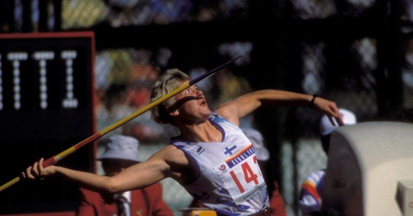 Päivi Alafrantti voitti 1990 keihään EM-kultaa ja valittiin vuoden urheilijaksi. Viidennen Stanley Cupinsa saavuttanut Jari Kurri jäi äänestyksessä kakkoseksi.