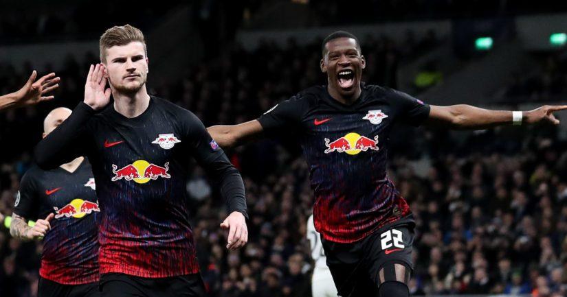 RB Leipzig juhlii maalia.