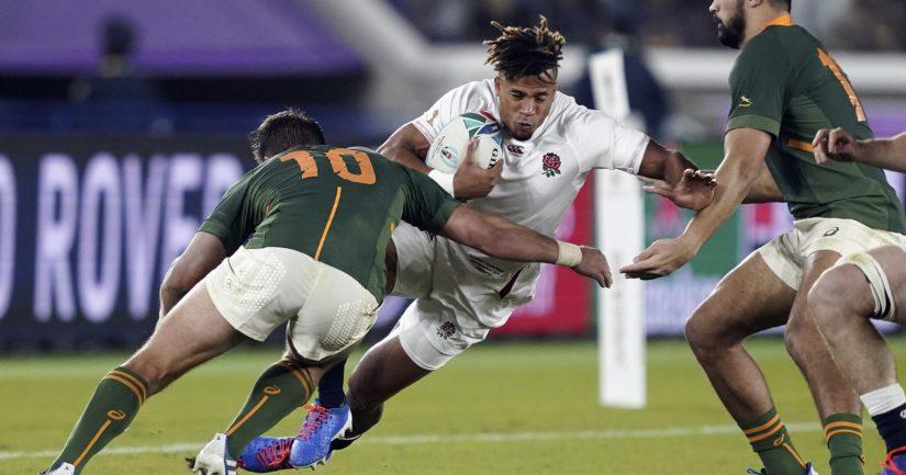 Etelä-Afrikka voitti rugbyn MM-finaalissa Englannin.