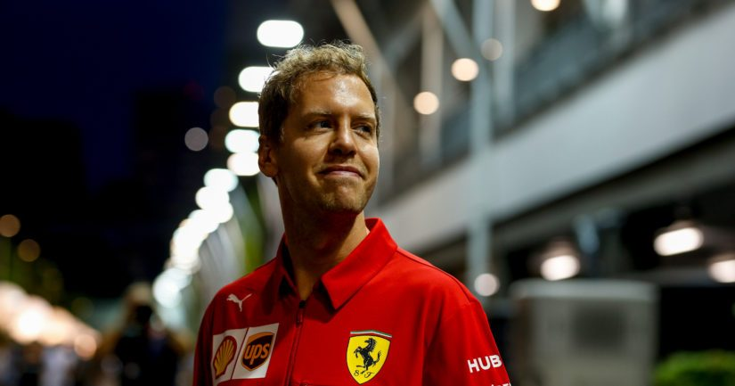 Sebastian Vettelin kausi 2019 Ferrarilla oli tuskien taivalta.