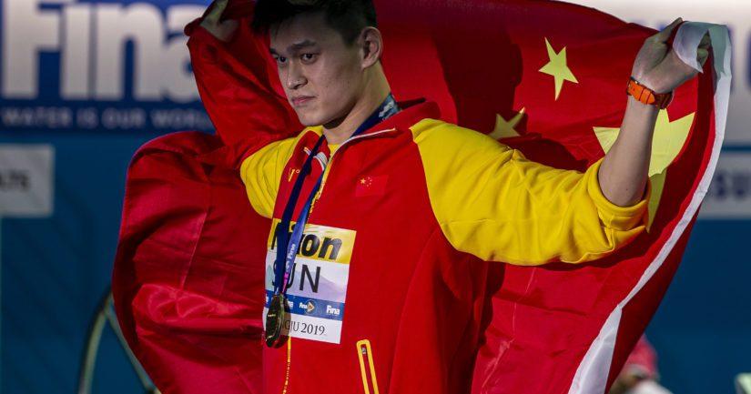 Kiinan uimaritähteä Sun Yangia uhkaa elinikäinen kilpailukielto