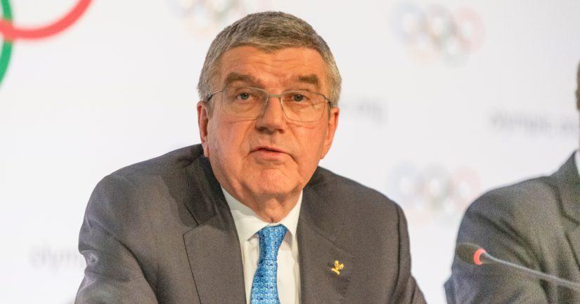 Kansainvälisen Olympiakomitean puheenjohtaja Thomas Bach.