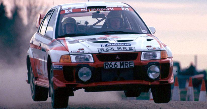 Tommi Mäkinen voitti neljä rallin maailmanmestaruutta Mitsubishillä.